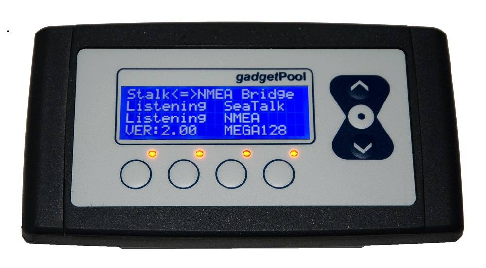 SeaTalk NMEA Bridge128SD w. repeater display, Keyboard and USB